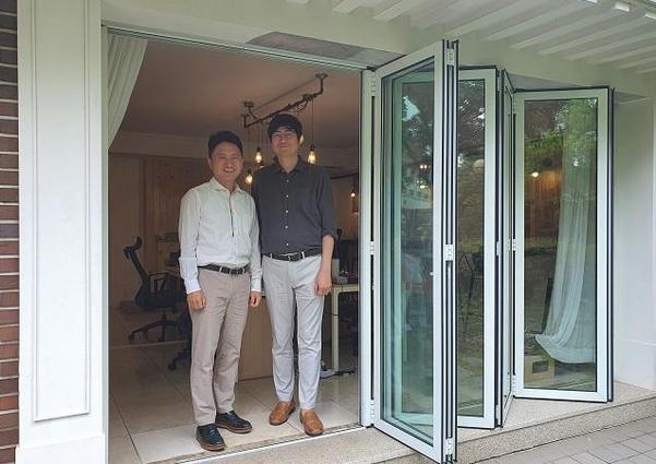 최영찬(왼쪽)·오종훈(오른쪽) 선보엔젤파트너스 공동대표. /정민하 기자