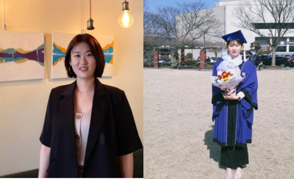 현재 송영광씨(왼쪽)와 서울대 졸업 당시 찍은 송영광씨 /본인제공