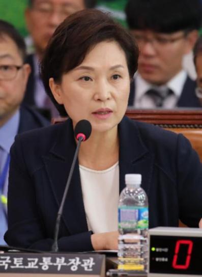 김현미 국토부 장관./조선DB