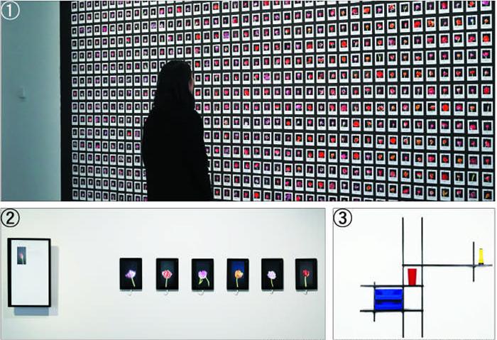 ①②안나 리들러(annaridler.com) 홈페이지, ③국립현대미술관 소장