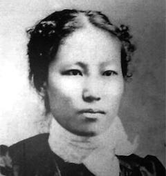 최초의 관비 여자 유학생 김란사(金蘭史·1872~1919). 3·1운동 직후 북경에서 의문사했다.