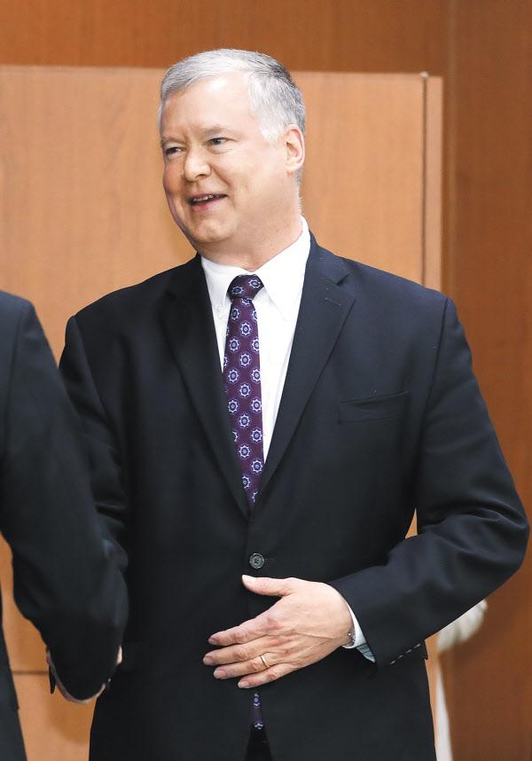 스티븐 비건 미국 국무부 부장관 겸 대북특별대표. /조선DB