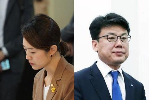 더불어민주당 고민정·진성준 의원. /고민정·진성준 의원 페이스북
