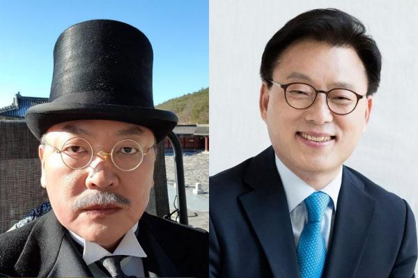 배우 김의성씨와 더불어민주당 박광온 의원 /김의성 인스타그램·박광온 의원 페이스북