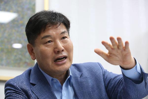 대구시 경제부시장으로 취임하는 홍의락 전 더불어민주당 의원. /조선일보DB