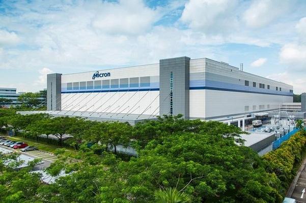 마이크론의 싱가포르 낸드플래시 공장./마이크론 홈페이지