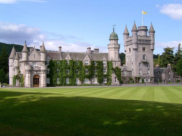 엘리자베스 2세 여왕의 스코틀랜드 밸모럴성 전경. /밸모럴성 홈페이지