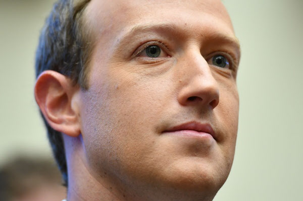 마크 저커버그 페이스북 CEO./AFP 연합뉴스