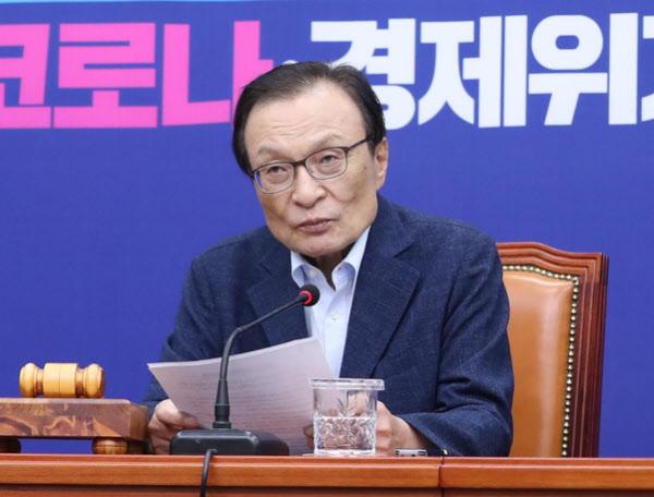 더불어민주당 이해찬 대표/연합뉴스