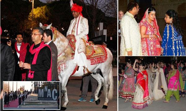 프라모드는 2012년 자신의 딸 결혼식을 위해 1000억원 가까이 썼다./타임스오브인디아