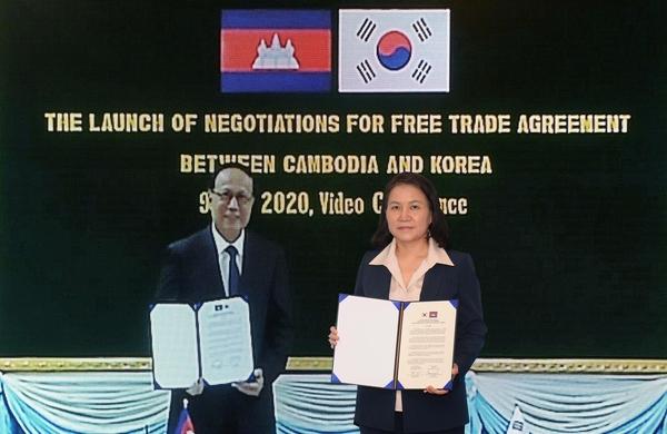 한국-캄보디아 FTA 추진… 아세안 10개국 중 6번째