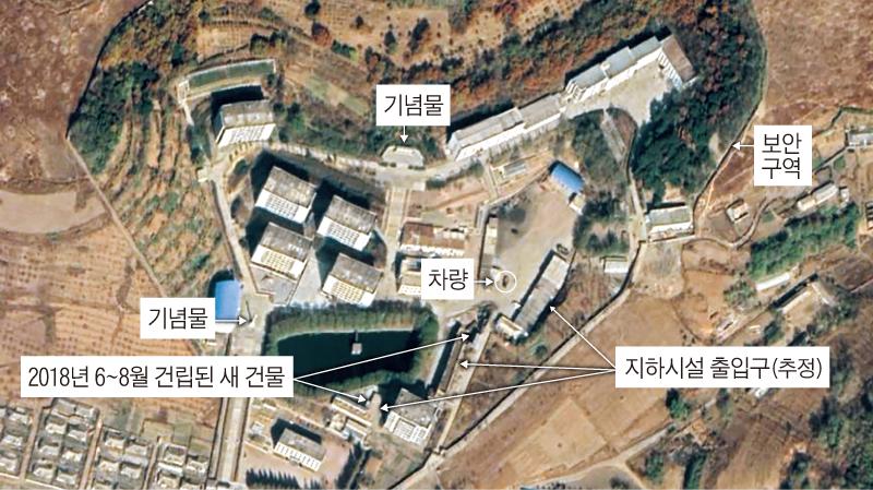 CNN이 8일(현지 시각) '북한 평양 만경강 구역 원로리 일대에 공개되지 않은 핵탄두 개발 시설이 포착됐다'며 민간 위성업체 '플래닛랩스'가 찍은 원로리 일대 위성 사진을 공개했다.