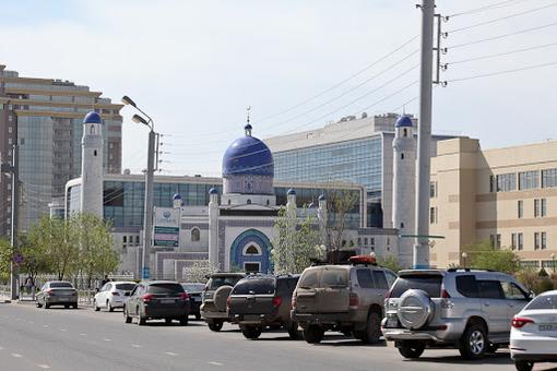 카자흐스탄 아티라우의 거리. /트위터 캡처