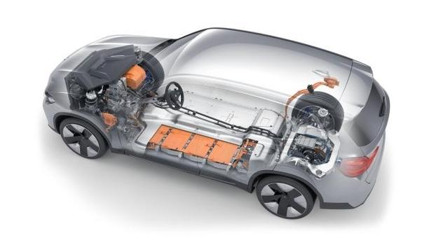 BMW가 14일 공개한 순수 전기차 iX3의 내부.  /BMW