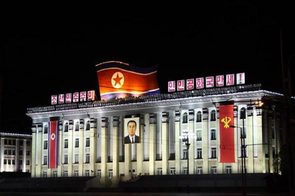 북한 김일성 광장. /조선중앙통신