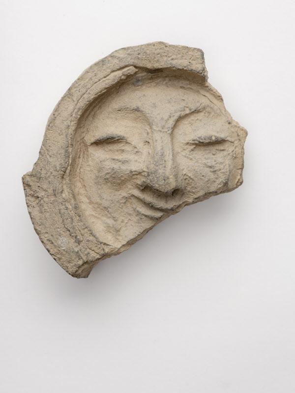 보물 제2010호 '경주 얼굴무늬 수막새'. /국립중앙박물관