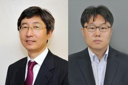 박남규 성균관대 교수(왼쪽)와 서장원 화학연 박사(오른쪽)./ 조선DB·화학연 제공
