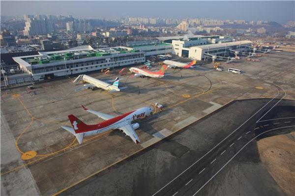 현 대구공항의 모습. /대구시