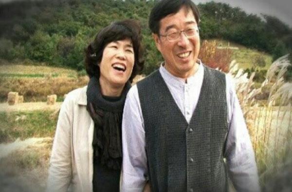 평생 화업을 함께 해온 김광옥(광주수완고)씨와 임혜숙(광주공고)씨.