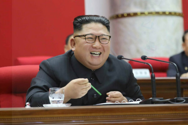 김정은 북한 국무위원장/노동신문