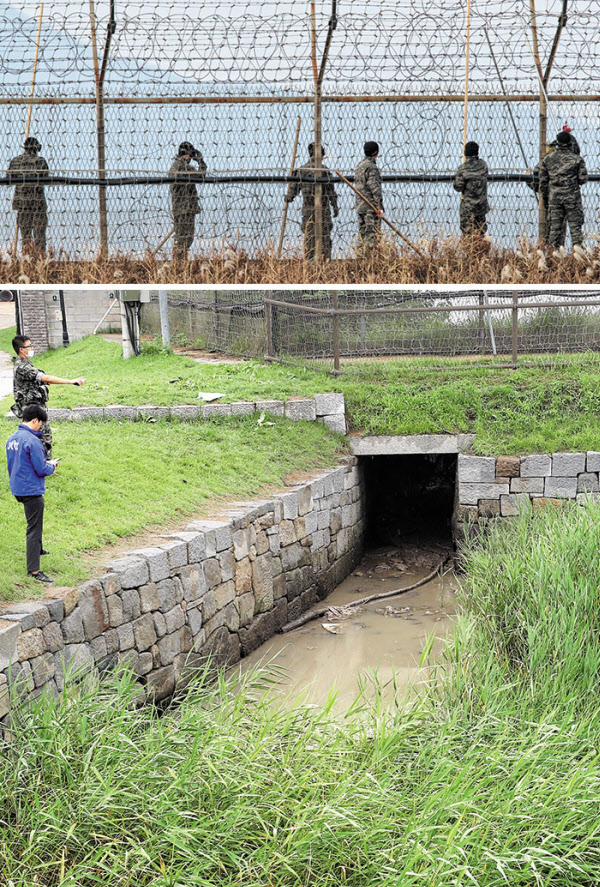 폭우로 최전방 철책 7km 유실됐다는데…軍 경계태세 이상없나