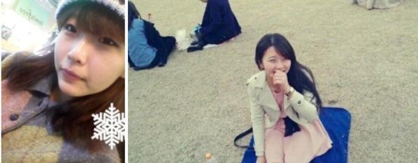 고등학생 시절의 우아영씨 /본인제공