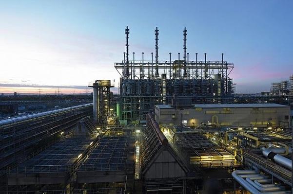 글로벌 화학기업 바스프가 운영하는 독일 소재 암모니아 생산 공장 모습. / 바스프 제공