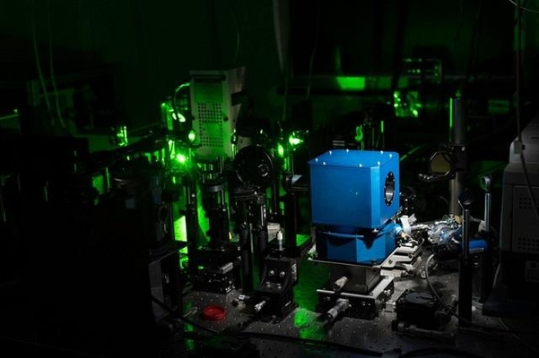 미국 로체스터대의 초전도체 실험 장비./로체스터대