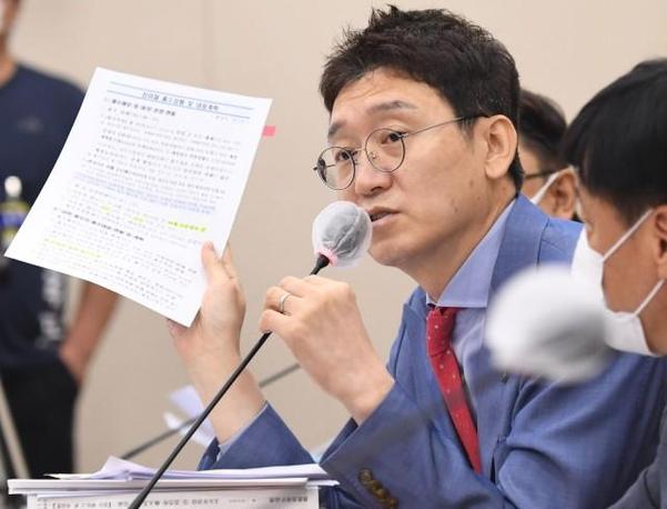 국민의힘 김웅 의원. /연합뉴스