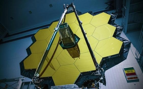 내년 발사될 제임스웹우주망원경./NASA