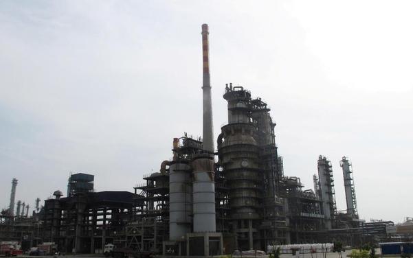 2016년 5월 10일(현지시각) 중국 산둥성 보싱현에 석유 정제 공장. / 로이터 연합뉴스