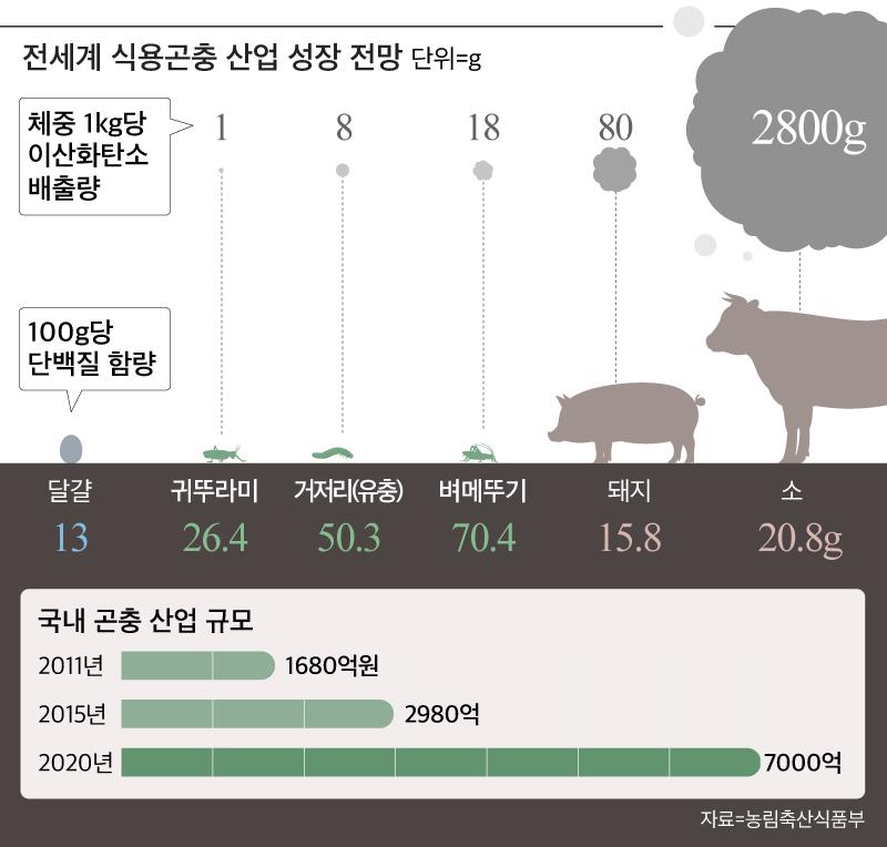 [뜨는 직업] ① 식용 곤충의 식량 개발자 '식량난'을 선도