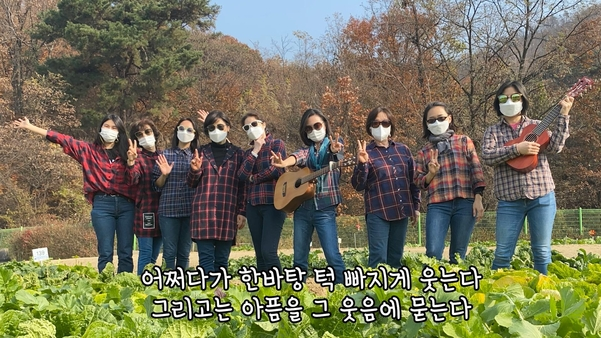 대상을 수상한 '기타포레' 팀. /SH공사 제공