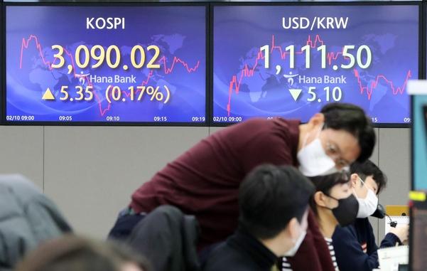 정부는 '부채'를 멈출 수 없었다… 1 월 은행 가계 대출 7.6 조원