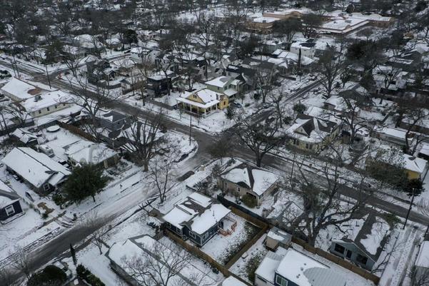미국 전역에 한파가 불어닥친 가운데, 텍사스주 피해가 가장 극심한 것으로 알려졌다. /AP연합뉴스