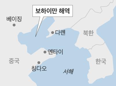 중국 국유기업인 중국해양석유총공사(CNOOC)가 보하이만에서 지난해 3월에 이어 두번째로 대형 유전을 발견했다고 밝혔다. /그래픽=박길우