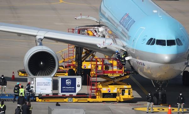 바다 대신 하늘로 … 지난해 항공 수송 수출의 가장 큰 비중