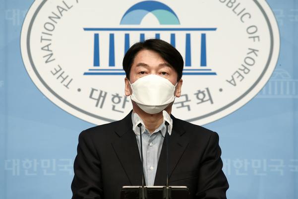 """[속보] 안철수 """"김종인과 오세훈이 요구 한 통일 방식 수용"""""""