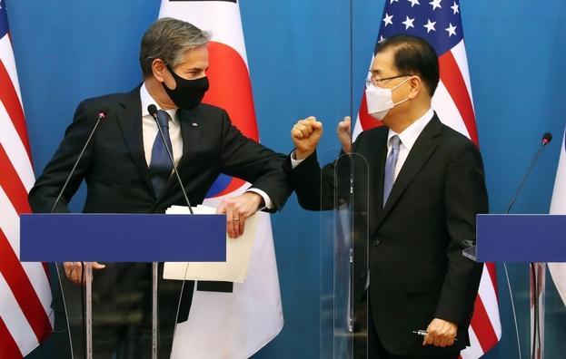 """한국은 """"한반도 비핵화가 맞다"""", 미국은 """"북한 비핵화가 맞다"""""""