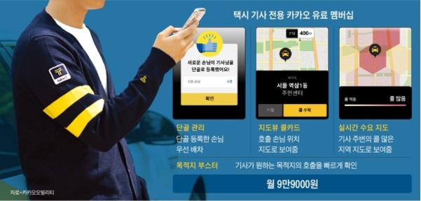 카카오 택시, 유료로 발톱 공개 … '갑 카오 폭정'으로 승객과 운전자 모두 피해