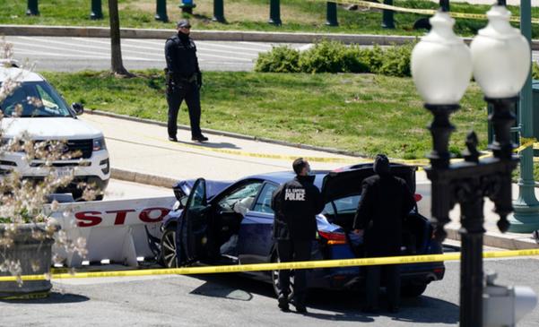 25 세 흑인 노아 그린, 국회 의사당에서 차를 급히 몰아 낸 혐의
