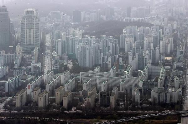 지난달 29일 서울 강남구 일대 아파트 단지 모습. /연합뉴스