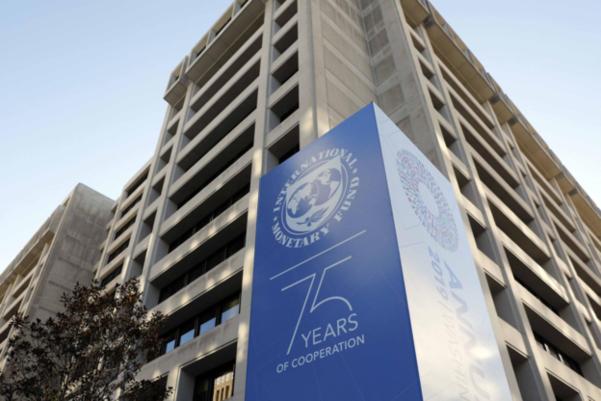 미국 워싱턴DC에 있는 IMF 본부 건물. /트위터 캡처