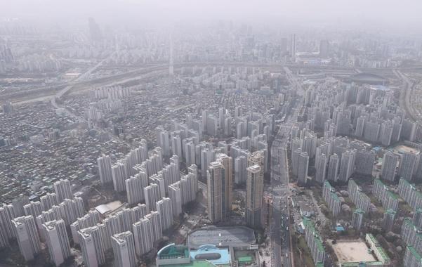 지난달 29일 서울 송파구 일대 아파트 단지 모습. /연합뉴스
