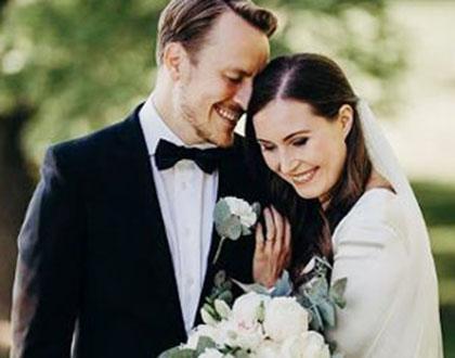 세계 최연소 총리… 16년 만난 남자친구와 결혼